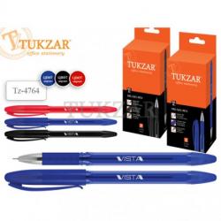 Ручка масляная TUKZAR VISTA 0,5мм красная Tz-4764