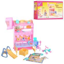 Мебель (детская комната, стол, горка, велосипед, шкаф, стул) 21019