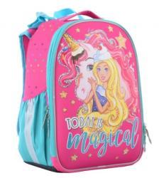 Рюкзак каркасный 1Вересня Unicorn H-25, 555365