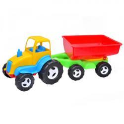 Трактор с прицепом  Б  07-709 KW