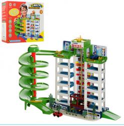 Детский игровой Гараж  МегаПарковка  6 уровней, 922