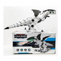 Динозавр 50см (ходит, подвижные детали, звук, свет, на батарейках), 881-3