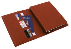 Ежедневник датированный + субобложка NEBRASKA коричневый А5 Optima O25232-07
