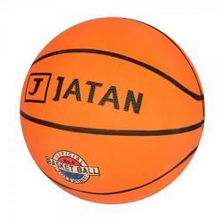 Мяч баскетбольный размер 6 (резина, 550 г., рисунок-печать), VA-0001-1
