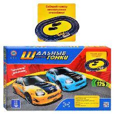 Игровой набор Metr + Автотрек Шальные гонки, 99101А