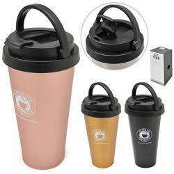 Стакан-термос металлический  Coffee style  450мл Stenson MT-3899A