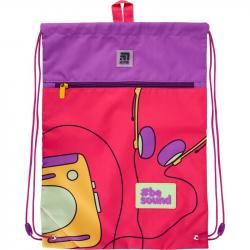 Сумка для обуви  Kite Education Be sound с карманом K21-601L-22