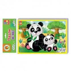 Мягкие пазлы Животные зоопарка, VT1103-45