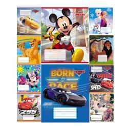 Тетрадь школьная  Disney  12 листов клетка Тетрада