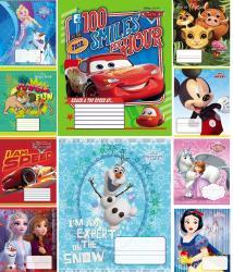 Тетрадь школьная  Disney  12 листов косая линия Тетрада