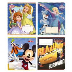 Тетрадь школьная  Disney  12 листов линия Тетрада 11983