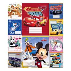 Тетрадь школьная  Disney  12 листов линия Тетрада