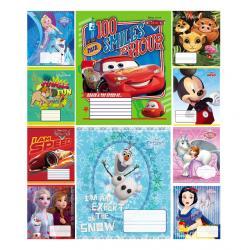Тетрадь школьная  Disney  12 листов клетка Тетрада 11982