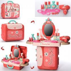 Трюмо с набором аксессуаров BeautySet в чемодане, 008-973A