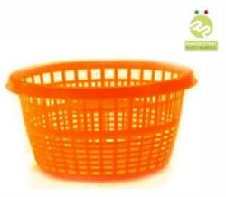 Корзина Chico для белья 10л, оранжевый