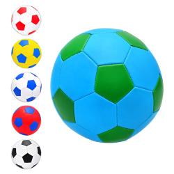 Мяч футбольный (размер 5, ПВХ, 1,6 мм, 2 слоя) EV-3165