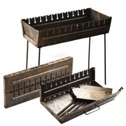 Мангал-чемодан Stenson на 12 шампуров, УК-М12