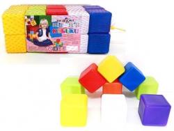 Кубики 20шт. 6*6*6см в сетке 02-603 KW