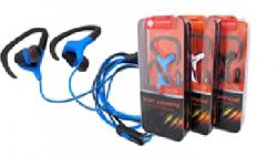 Наушники Deepbass D-09 Sport + mic - Red