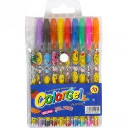 Набор гелевых ручек COLOR-IT 10 цветов 0,7мм 805-10
