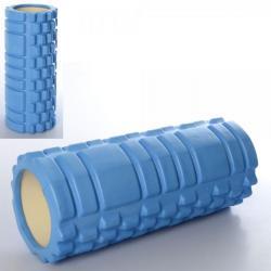Массажер рулон для йоги, размер 33-14 см., MS 0857-BL