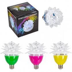 Вращается лампа LED Цветок цветной 13-78