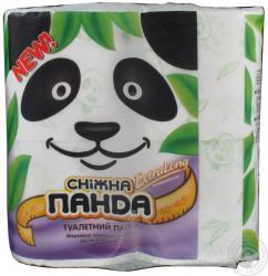 Туалетная бумага Экстра лонг 4шт * 14 Снежная Панда