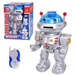 Робот (на радиокер., стреляет дисками, звук, свет, бат.) 28072
