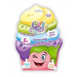 Вязкая масса Danko Toys Fluffy Slime 500 г, ДТ-СО-16-61