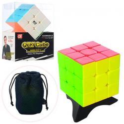 Кубик 6-6-6см. на подставке в чехле, 5001