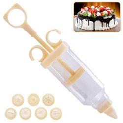 Набор кондитерский шприц с насадками, H11670