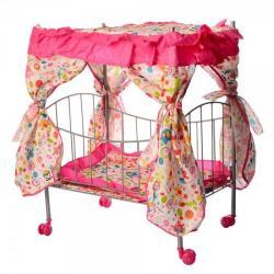 Кроватка для куклы 48-32-60см, 9350