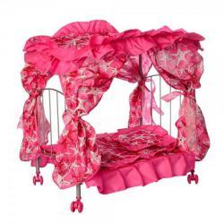 Кроватка для куклы 48-32-60см металлическое, 9350 E