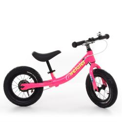 Беговел (велобег) розовый, W1202-2