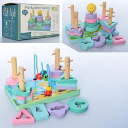 Деревянная игрушка Геометрика, MD 2112