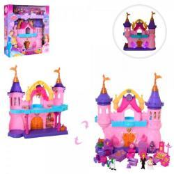 Замок 38-43-14см, мебель, фигурки 2 шт. 7 см (звук, свет, на батарейках), SG-2974