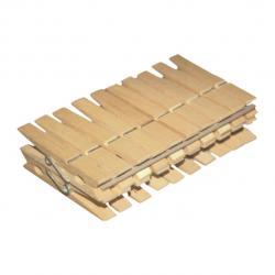 Прищепки для белья деревянные 20шт. 096050