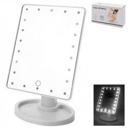Зеркало для макияжа с LED-подсветкой  Magic  16,8х26,9см Stenson R86668