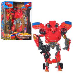 Трансформер ТЧ (робот-машинка 34см, муз., Свет) 4080