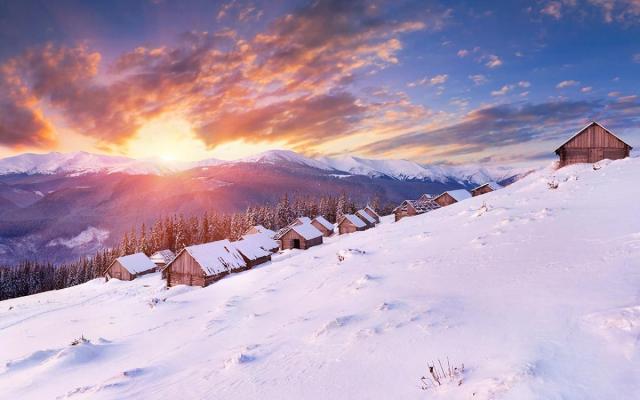 Фото Зима в Закарпатье {осн}-корп