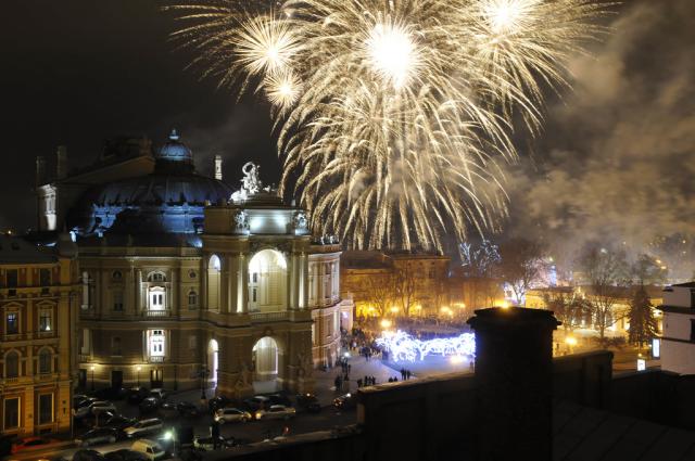 Фото Новый Год в Одессе 2021