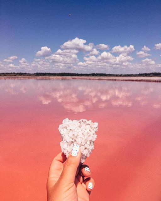 Фото Розовые озёра и Херсонские горы {основной} - корп