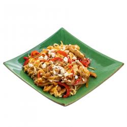 Фото Лапша рисовая с телятиной