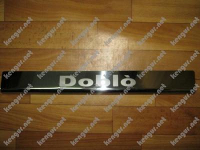 Фото Хром Накладки на дверные пороги (нерж.) на метал  Лазер  #497104