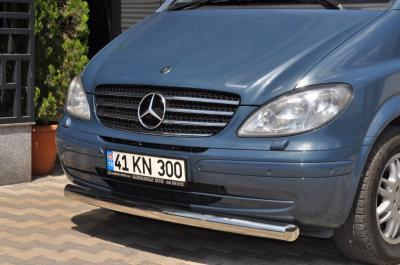 Фото Защитная дуга по бамперу Mercedes-Benz W639 прямая