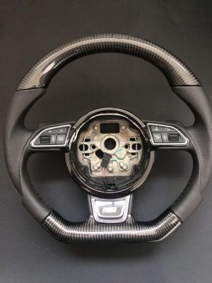 Фото Руль карбоновый в стиле S-line на Audi A4 (2012-...)