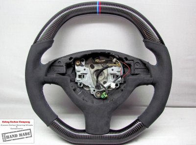 Фото Карбоновый руль на BMW E46
