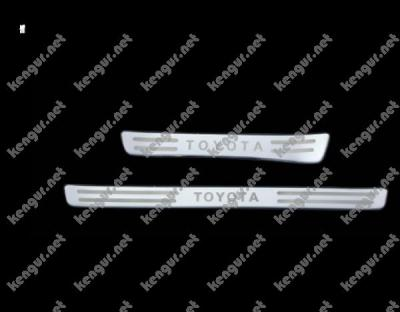 Фото Накладки на пороги Toyota Land Cruiser 100