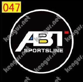 Фото Лазерная подсветка дверей с логотипом ABT (№047)