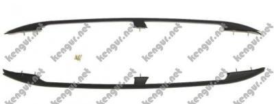 Фото Рейлинги черные (пластиковые концевики) Fiat Doblo